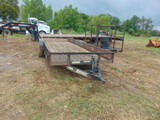 *NOT SOLD* 20' MAXEY BUMPER PULL TRAILER