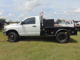 *NOT SOLD* 2008 DODGE SINGLE CAB TRUCK WITH FLAT BED 4X4