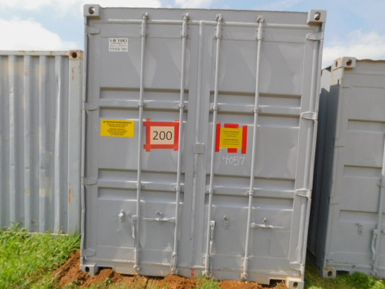 *(NOT SOLD)*40FT CONEX HY CUBE
