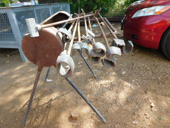 *(NOT SOLD)*BRANDING IRONS AND HEATER
