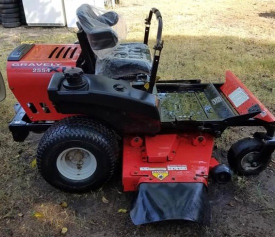 *PENDING*Gravely 2554 Zero Turn Mower