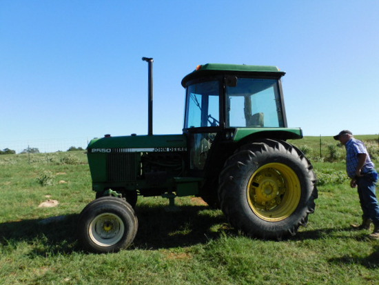 *NOT SOLD*John Deere 2550 Cab Tractor