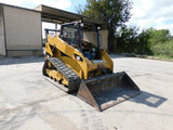 *NOT SOLD*Caterpillar  Tracked Diesel Skid Steer  259B