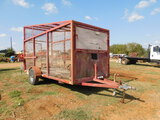 *NOT SOLD*Trash Trailer 6'x16