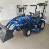 *NOT SOLD*New Holland T1110 Tractor 4x4 W/Loader