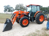 *NOT SOLD*Kubota Utility Special M9000 W/Bush Hog M446 Loader