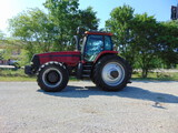 *NOT SOLD*Case Magnum MX270 4x4 Diesel Cab Farm Tractor