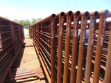 *NOT SOLD*QTY 8 24FT HEAVY DUTY CATTLE PANELS INCLUDED NO GATE