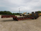 *NOT SOLD*Lowboy Trailer/ POWER TAIL RAMPS