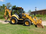 *NOT SOLD*CATERPILLAR 416 F LOADER BACKHOE 4 X 4