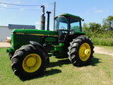 *NOT SOLD*JOHN DEERE 4650 4 X 4 CAB AIR/ TRACTOR