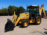 *NOT SOLD*John Deere 310SG Cab Air 4Wheel Drive Tractor