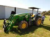 *NOT SOLD*John Deere 5090EL Tractor With Loader Bucket