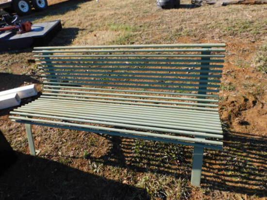 *NO SALE* Green Bench
