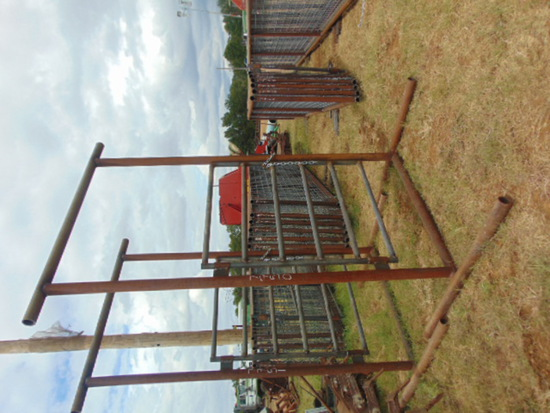 *NOT SOLD* 10 FT TALL/ 4 FT GATE