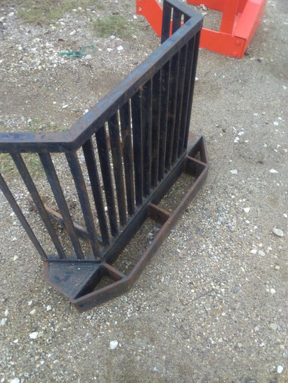 *NOT SOLD*BLACK TRACTOR FRONT BUMPER
