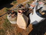 2 Propane Tanks And Other Items