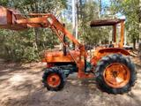 4x4 Kubota L345Dt Diesel Tractor W/Loader Drives Out Goid & Strong