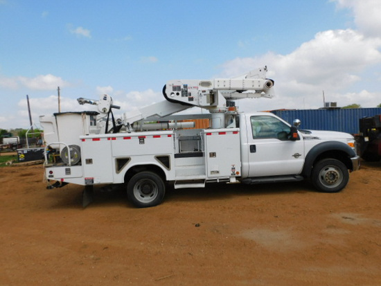 *SOLD* 2014 F550 POWERSTROKE BUCKET TRUCK