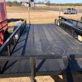 *NOT SOLD*(NEW) CenTex 16FT Trailer (NEVER USED)