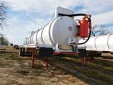 *NOT SOLD*APPX Dragon 120 Barrel Vacuum Trailer