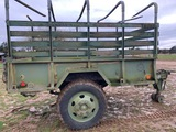 *NOT SOLD* 10 FT X 7 FT MILITARY TRAILER