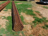 *NOT SOLD*BUNDLE OF 37 PIPE 2 3/8 ABOUT 24 FT LONG