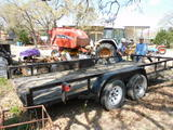 *SOLD* 16 FT 2 AXLE TRAILER