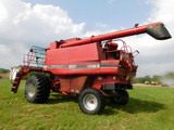 *NOT SOLD* CASE III 2188 COMBINE WITH BEAN AND CORN HEADER