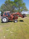 *NOT SOLD* HESSTON 10090 DIESEL TRACOR