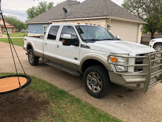 FORD KING RANCH FX4 SUPER DUTY
