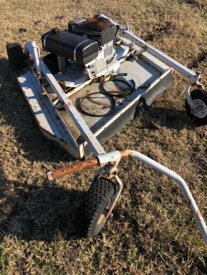 Pull behind 55 inch mower