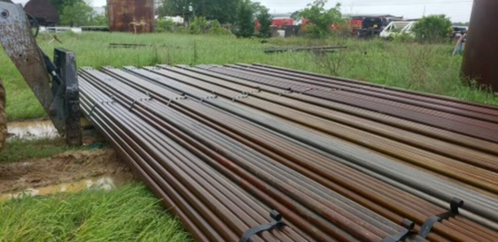 1 BUNDLE PER LOT 2 5/8 pipe 32' long Heavywall Pipe 37 joints PICK UP WITHIN