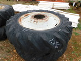 *NOT SOLD*TRACTOR TIRES & RIMS