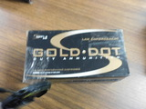 SOLD SPEER GOLD DOT HOLLOWPOINT 357 SIG 125 GRAIN GDGP 100 ROUNDS IN LOT