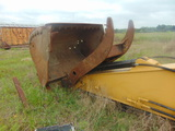 NOT SOLD EXCAVATOR BUCKET STICK AND THUMB FOR 330DCAT WITH HARDWARE AND HOSES