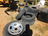 *NOT SOLD*10 ASSORTED TIRES AND RIMS