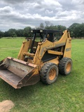 NOT SOLD 2002 CASE SKIDSTEER LOADER WITH CUTTING EDGE BUCKET (GRAPPLE IN PICS NOT INCLUDED)