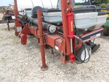NOT SOLD White Model 6704 (4) row air planter w/ monitor and extra seed plates