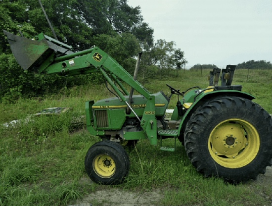 *NOT SOLD*JOHN DEERE 5300 WITH LOADER AND HAY SPEAR