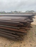 *NOT SOLD*2 7/8 DRILL STEM PIPE/ 75 STICKS