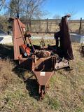 *NOT SOLD*Rhino SR-15M Batwing Shredder/ 2 UNITS/ ONE MONEY!