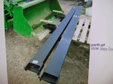 *NOT SOLD*10 FT FORK EXTENSIONS/ RATED 6600# CAPACITY PER OWNER