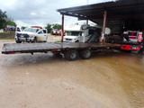 *NOT SOLD*SURE PULL GOOSENECK STYLE TRAILER