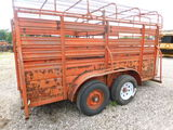 *NOT SOLD*5X14 HORSE TRAILER