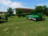 *NOT SOLD*JOHN DEERE 945 MOCO HAYCUTTER (BOX OF NEW BLADES INCLUDED)