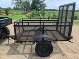 *NOT SOLD* 4X6 TRAILER WITH FOLD DOWN GATE