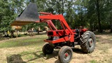 *NOT SOLD*165 MASSEY FERGUSON DIESEL TRACTOR WITH LOADER