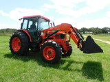 *SOLD* KUBOTA 9000 UTILITY SPECIAL 4 X 4 CAB/ AIR LOADER TRACTOR