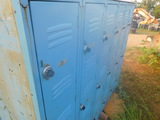 *NOT SOLD*BLUE DOUBLE SIDED LOCKERS